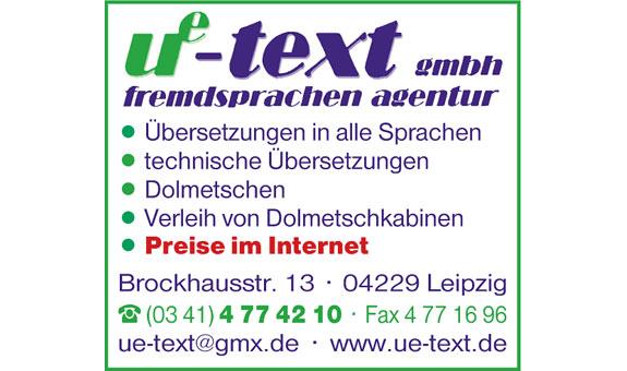 AGENTUR ue-text gmbh