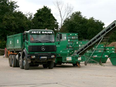 Fritz Bauer GmbH Baggerbetrieb/Containerdienst