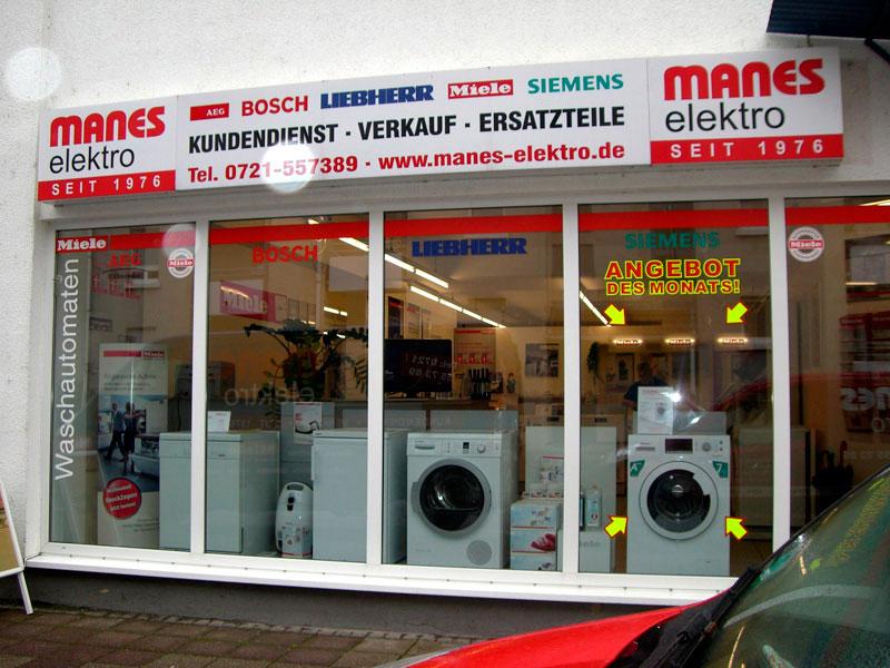 Bild 1 Manes GmbH - Das Original seit 1976 in Karlsruhe