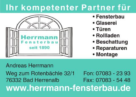 Herrmann Fensterbau Inh. Andreas Herrmann