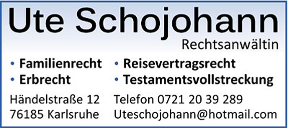 Anwaltskanzlei Ute Schojohann