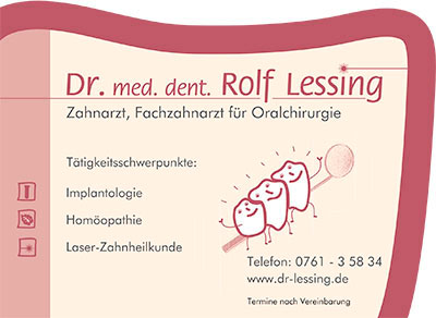 Lessing Rolf Dr. med. dent.