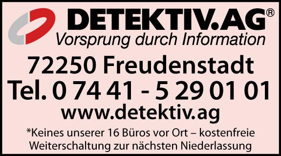 Bild 1 A . M . G . - DETEKTIV AG Wirtschaftsdetektei und Privatdetektei in Freudenstadt