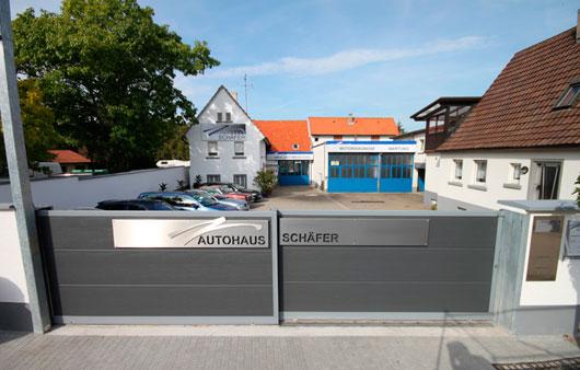 autohaus sch fer inh bernd sch fer in ubstadt weiher das rtliche. Black Bedroom Furniture Sets. Home Design Ideas