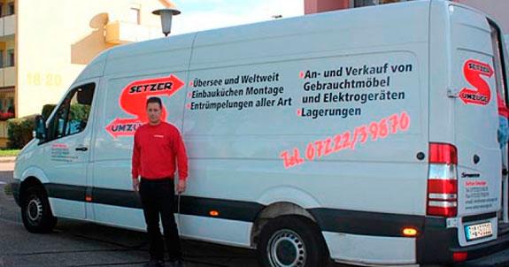 Bild 1 Setzer-Umzüge in Rastatt
