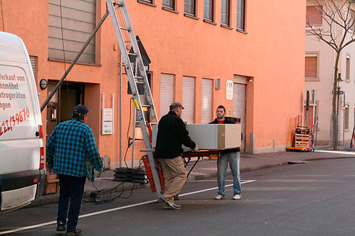 Bild 3 Setzer-Umzüge in Rastatt
