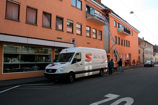 Bild 4 Setzer-Umzüge in Rastatt