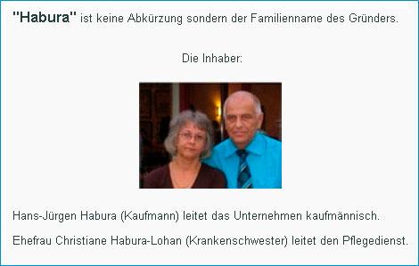Ambulanter Pflegedienst Ch. und H.J. Habura