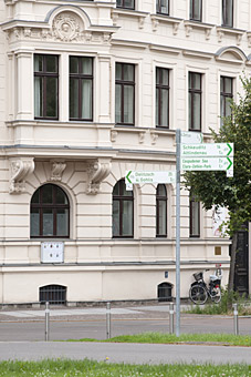 Bild 2 Schlittgen in Leipzig