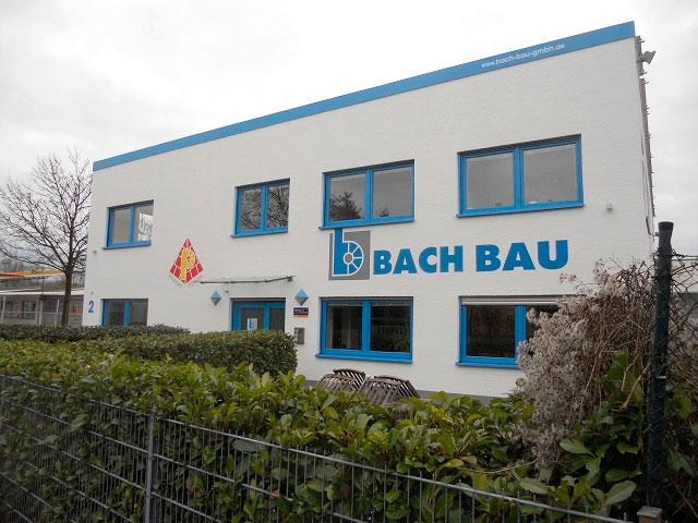 Bild 1 Adolf Bach GmbH Hoch-, Tief- u. Stahlbetonbau in Karlsruhe