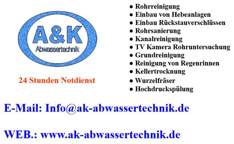 Bild 3 A & K Abwassertechnik in Mannheim