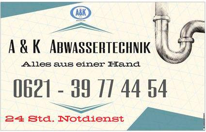 Bild 4 A & K Abwassertechnik in Mannheim