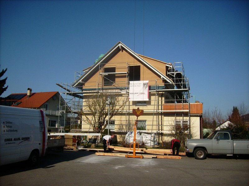 Bild 2 Holzbau Schäuble Zimmerei, Altbausanierung in Rickenbach