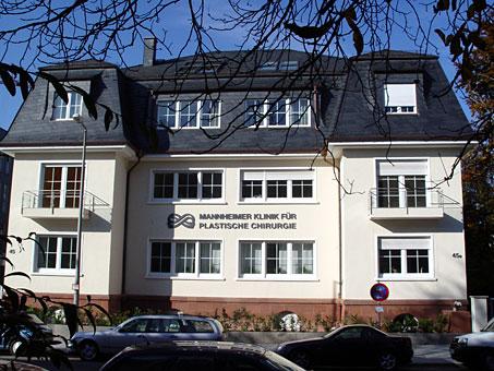 Ästhetische Chirurgie Mannheimer Klinik für Plastische Chirurgie