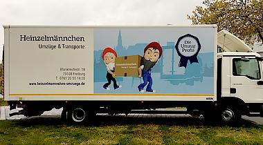 Bild 1 Heinzelmännchen Umzüge & Transporte in Freiburg