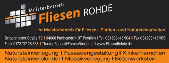 Fliesen Rohde/Fliesenlegermeister Thomas Rohde