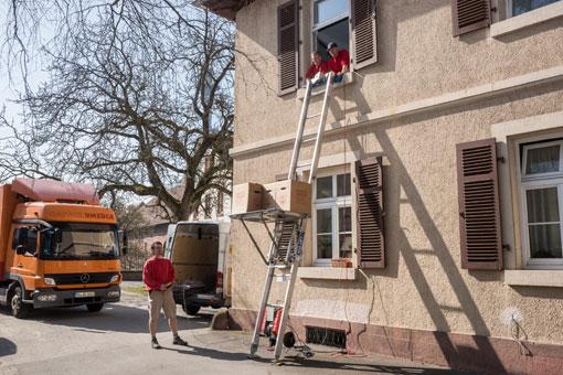 Bild 7 Ganatz Umzüge Lagerhaus OHG in Lahr