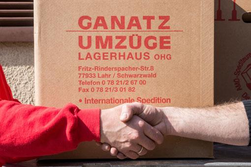 Bild 8 Ganatz Umzüge Lagerhaus OHG in Lahr