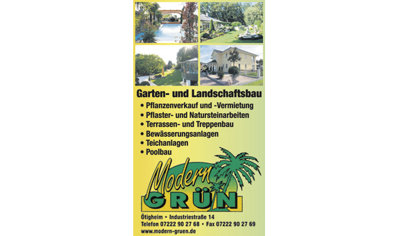 Bild 1 Modern Grün in Ötigheim