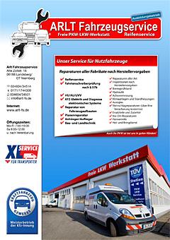 Logo von Arlt Fahrzeugservice Freie LKW-PKW-Werkstatt und Reifenhandel