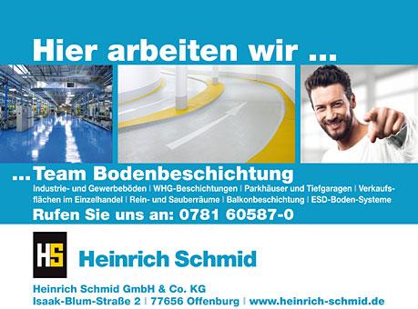 heinrich schmid gmbh co kg 77656 offenburg gemeinde hohberg ffnungszeiten adresse telefon. Black Bedroom Furniture Sets. Home Design Ideas