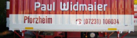 Bild 2 Paul Widmaier GmbH Spedition u. Möbeltransp. in Pforzheim