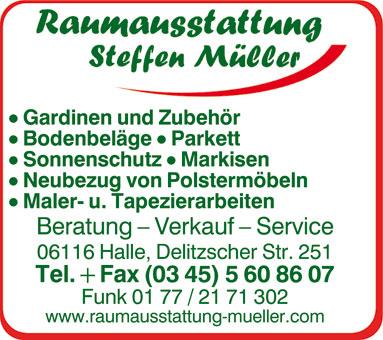 Raumausstatter Steffen Müller
