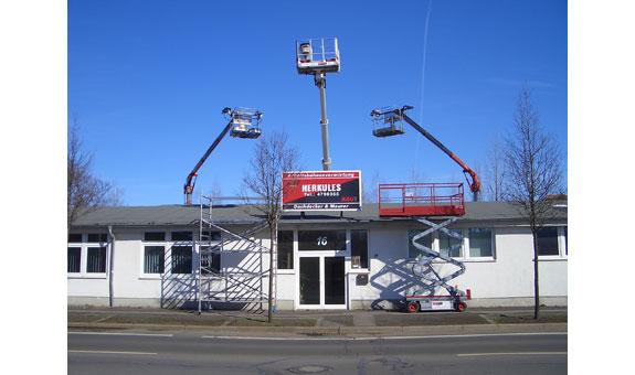 Bild 8 Arbeitsbühnen in Leipzig