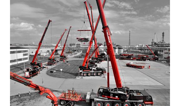 Bild 1 Mammoet Deutschland GmbH c/o BASF SE in Ludwigshafen