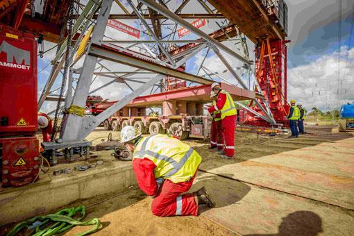 Bild 3 Mammoet Deutschland GmbH c/o BASF SE in Ludwigshafen