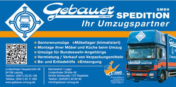 Bild 1 Gebauer Spedition GmbH in Leipzig