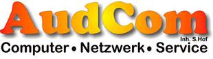 Logo von AudCom Computer-Netzwerk-Service