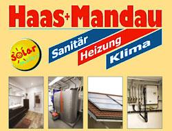 Logo von Haas + Mandau GmbH Sanitär-Heizung-Klima