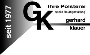 Logo von Klauer Gerhard