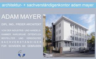 architektur - + sachverständigenkontor adam mayer
