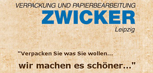 ZWICKER Verpackung und Papierbearbeitung