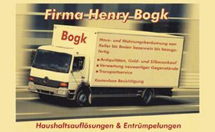 Logo von Bogk,Henry Dekocenter 24