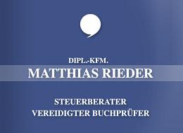 Rieder Matthias Dipl. Kaufmann