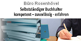 Logo von Büro Rosenhövel Selbständiger Buchhalter