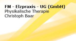 FM-Elzpraxis-UG (haftungsbeschränkt) Physikalische Therapie Christoph Baar