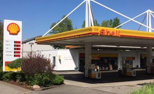 Shell Tankstelle Till