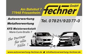 Logo von Fechner GmbH Ortenauer Schrott- und Autoverwertung